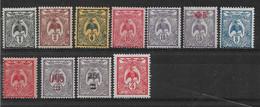 Neukaledonien 1905/24 Kagu Lot Aus  Mi.-Nr. 85....124  */MH - Nuevos