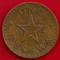 GHANA 1 PESEWA - 1967 - Ghana