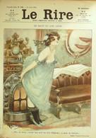 "REVUE ""LE RIRE""-1906-168-GUILLAUME POULBOT CARLEGLE AVELOT HERMANN BURRET - 1900 - 1949"