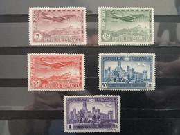 España. 1931. Congreso Unión Postal Panamericana. Correo Aereo. * - Nuevos