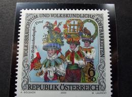 Osterreich - Austrich - Austria - 2000 - N° 2304 - Volksbrauchtum Und Volkskundliche Kostbarkeiten - 1991-00 Nuevos & Fijasellos