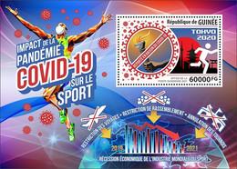 GUINEA 2021 - COVID-19, Tokyo Olympics Postponed S/S. Official Issue [GU210154b] - Verano 2020 : Tokio