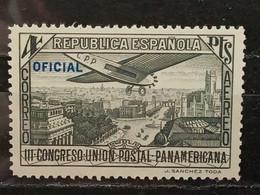 España. 1931. Congreso Unión Postal Panamericana. Correo Aereo. Edifil 619. Oficial. 4 Pesetas. ** - Nuevos