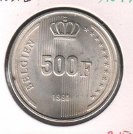BOUDEWIJN * 500 Frank 1991 Vlaams * Prachtig / F D C * BELGIEN * Nr 10474 - 11. 500 Francos