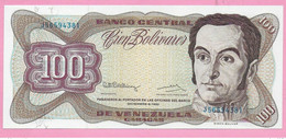 100 BOLIVARES 1992 VENEZUELA UNC - Venezuela