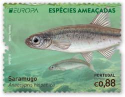 Portugal.2021.Europa CEPT.Endangered National Wildlife.1 V. ** . - 2020