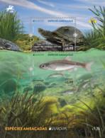 Portugal.2021.Europa CEPT.Endangered National Wildlife.s/s. - 2020