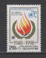(SA1170) NORTH KOREA, 1998 (50th Anniversary Of The Universal Delcaration Of Human Rights). Mi # 4111. MNH** Stamp - Corée Du Nord