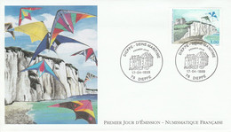 FDC 1999 DIEPPE - 1990-1999