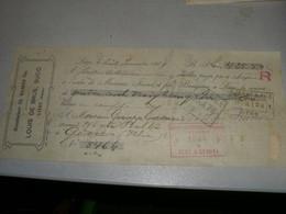 CAMBIALE MANUFACTURE CH HAAKEN FILS LOUIS DE BRUS SUCC LIEGE BELGIQUE 1909 CON BELLA MARCA DA BOLLO - Bills Of Exchange