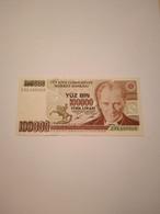 TURCHIA-P205b 100000L 1991 QUNC - Turkey