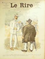 "REVUE ""LE RIRE""-1906-185-HUARD CARLEGLE RADIGUET MIRANDE VILLEMOT - 1900 - 1949"