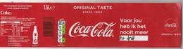 Etiket-label  Coca-cola Orginal Taste (NL) - Other