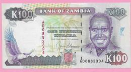 100 KWACHA UNC 1991 - Zambia