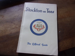 GUIDE BOOK   STOCKTON ON TEES OFFICIAL GUIDE - Europa