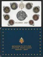 Vaticano Monetazione In Euro 2007 F.S.con D'argento (Vatikan Silver) - Vatican