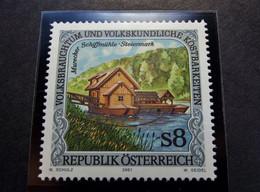 Osterreich - Austriche - Austria - 2001 - 2338 -  Postfrisch MNH -  Volksbrauchtum Und Volkskundliche Kostbarkeiten - 2001-10 Nuevos & Fijasellos