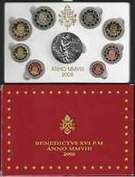 Vaticano Monetazione In Euro 2008 F.S.con D'argento (Vatikan Silver) - Vatican