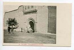 EGYPTE 018 LE CAIRE No 64 Cariole Ane Porte Interieure Citadelle  - 1900  Dos Non Divisé Bergeret - El Cairo