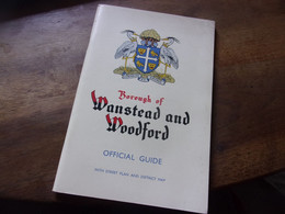 BOROUGH OF WONSTEAD AND WOODFORD OFFICIAL GUIDE  MAP PLAN - Europa