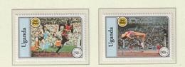 Uganda 1994 IOC Centenary 2 Stamps MNH/** (H56) - Other