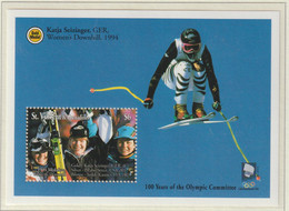 St. Vincent And The Grenadines 1994 IOC Centenary Souvenir Sheet MNH/** (H56) - Other