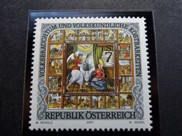 Osterreich - Austriche - Austria - 2001 - 2343 -  Postfrisch MNH -  Volksbrauchtum Und Volkskundliche Kostbarkeiten - 2001-10 Nuevos & Fijasellos