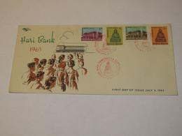 Indonesia FDC 1963 - Indonesia