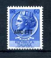 1953-54 AMG-FTT N.175 MNH ** - Mint/hinged