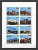 H475 2007 MALDIVES RACING FORMULA 1 F1 CARS FERRARI HISTORY 1KB MNH - Voitures