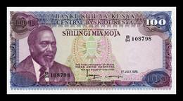 Kenia Kenya 100 Shillings 1978 Pick 18 SC UNC - Kenya