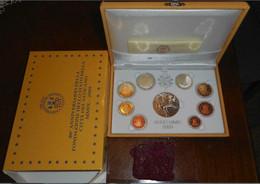 Vaticano Monetazione In Euro 2009 F.S.con D'argento (Vatikan Silver) - Vatican