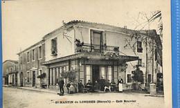 34 - Hérault - St Martin De Londres - Café Bouvier  (N4584) - Altri Comuni