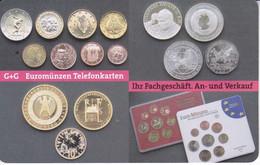 TARJETA DE ALEMANIA CON UNAS MONEDAS (COIN) MONEDA - Francobolli & Monete