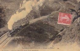 Montluçon, Gorges Du Diénat, A. Poubeau  Gozet Montluçon, Train A Vapeur Locomotive Voie Ferrée - Montlucon