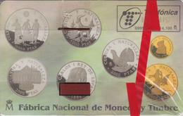 TARJETA DE ESPAÑA DE MONEDAS DE TIRADA 14100  (COIN) NUEVA-MINT - Francobolli & Monete