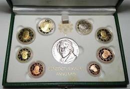 Vaticano Monetazione In Euro 2010 F.S.con D'argento (Vatikan Silver) - Vatican