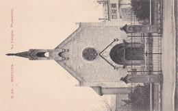 Moulins, Le Temple Protestant, Façade Extérieure, Entrée, Clocher, P. Paquet édition - Moulins