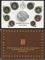 Vaticano Monetazione In Euro 2011 F.S.con D'argento (Vatikan Silver) - Vatican