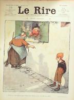 "REVUE ""LE RIRE""-1907-233-POULBOT CARLEGLE AVELOT BAC HEMARD CARDONA DELAW - 1900 - 1949"
