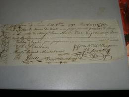 CAMBIALE 1798 TURIN - Lettres De Change