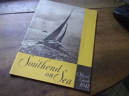 SOUTHEND ON SEA 1947 OFFICIAL GUIDE - Europa