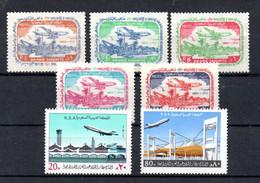 T1-5 Arabie Saoudite N° 206 à 210 * + 523 + 524 ** A Saisir !!! - Arabia Saudita
