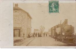 BOISSY LE SEC, Carte Photo, Ancienne Gare Du CGB, Carte Rare - Non Classificati