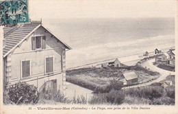 Vierville-sur-mer, Calvados, La Plage, Vue Prise De La Villa Deniau, 1911 - Villers Sur Mer