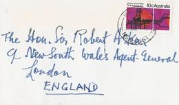 Australie Brief Met 1 Zegel (1328) - Covers & Documents