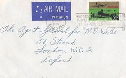 Australie Luchtpostbrief Uit 1970 Met 1 Zegel (1330) - Covers & Documents