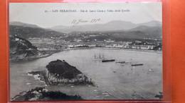 CPA.San Sebastian .Isla De Santa Clara Y Babia Desde Igueldo.  (R1.931) - Guipúzcoa (San Sebastián)
