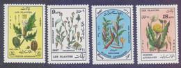 Afghanistan 1987 - Medicinal Health Plants, 4 Stamps MNH - Afghanistan