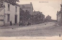 Bourbonnais, 1907, Varennes-sur-Tèche, Route De Trezelle, Animée - Altri Comuni